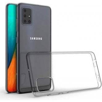 """Skaidrus silikoninis dėklas Samsung Galaxy A71 telefonui """"Mercury Goospery Jelly Clear"""""""
