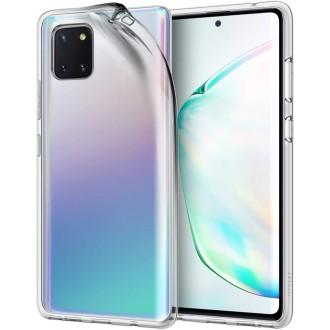 "Skaidrus silikoninis dėklas Samsung Galaxy Note 10 Lite / A81 telefonui ""Clear"" 1,0mm"