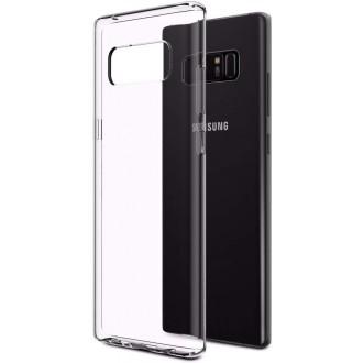 """Skaidrus silikoninis dėklas Samsung Galaxy Note 8 telefonui """"Clear"""""""