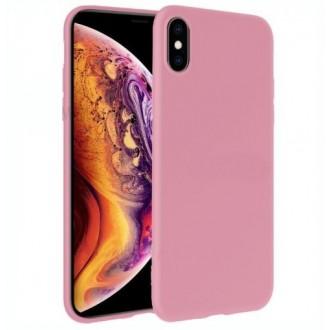 Šviesiai rožinės spalvos dėklas X-Level Dynamic Apple iPhone 12 / 12 Pro telefonui