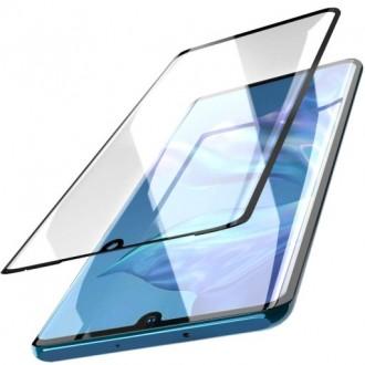 Apsauginis grūdintas stiklas ,,5D Full Glue HQ Quality,,  Samsung Galaxy A202 A20e telefonui