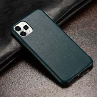 Tamsaus turkio spalvos dirbtinės odos dėklas telefonui Samsung S9