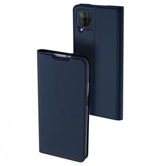 """Tamsiai mėlynas atverčiamas dėklas Huawei P40 Lite / Nova 6 SE / Nova 7i telefonui """"Dux Ducis Skin"""""""