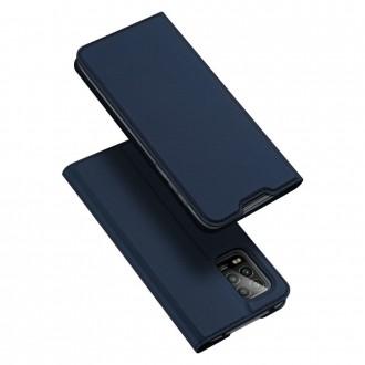 """Tamsiai mėlynas atverčiamas dėklas Mi 10 Lite / Mi 10 Lite Zoom telefonui """"Dux Ducis Skin"""""""