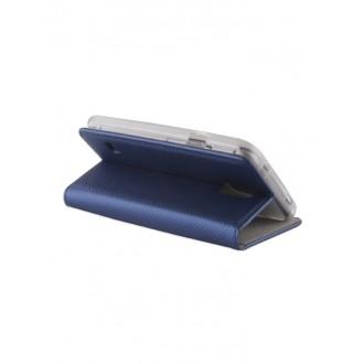 """Tamsiai mėlynas atverčiamas """"Smart Magnet"""" dėklas telefonui Nokia 2.4"""