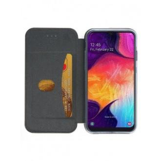 """Tamsiai mėlynas atverčiamas dėklas Samsung Galaxy A505 A50 / A507 A50s / A307 A30s telefonui """"Book Elegance"""""""
