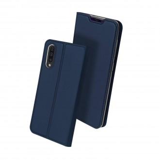 """Tamsiai mėlynas atverčiamas dėklas Samsung Galaxy A705 A70 telefonui """"Dux Ducis Skin"""""""