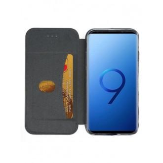 """Tamsiai mėlynas atverčiamas dėklas Samsung Galaxy G960 S9 telefonui """"Book Elegance"""""""