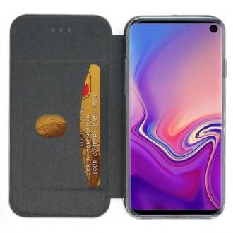 """Tamsiai mėlynas atverčiamas dėklas Samsung Galaxy G973 S10 telefonui """"Book Elegance"""""""