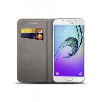 """Tamsiai mėlynas atverčiamas dėklas Samsung Galaxy J5 2016 telefonui """"Smart Magnet"""""""