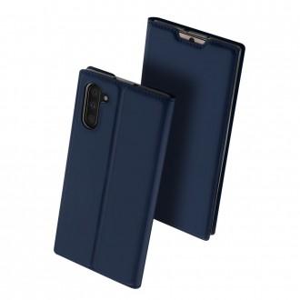 """Tamsiai mėlynas atverčiamas dėklas Samsung Galaxy N970 Note 10 telefonui """"Dux Ducis Skin"""""""