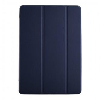 """Tamsiai mėlynas atverčiamas dėklas Samsung T970 / T976 Tab S7+ """"Smart Leather"""""""