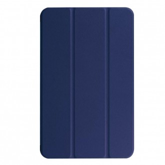 Tamsiai mėlynas atverčiamas dėklas Samsung TAB S6 LITE ''Smart Leather''