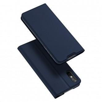 """Tamsiai mėlynas atverčiamas dėklas Xiaomi Redmi 9A telefonui """"Dux Ducis Skin"""""""