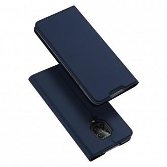 """Tamsiai mėlynas atverčiamas dėklas Xiaomi Redmi Note 9s / 9 Pro / 9 Pro Max telefonui """"Dux Ducis Skin"""""""