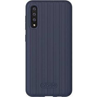 "Tamsiai mėlynas dėklas ""Araree Airdome"" Samsung Galaxy A505 A50 / A507 A50s telefonui"