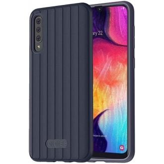 """Tamsiai mėlynas dėklas """"Araree Airdome"""" Samsung Galaxy A705 A70 telefonui"""