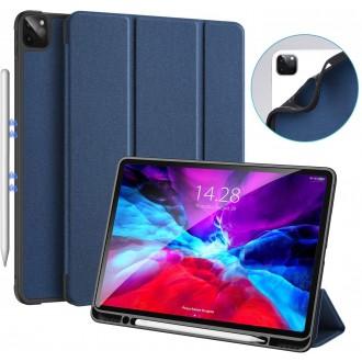 """Tamsiai mėlynas dėklas Dux Ducis """"Domo"""" Apple iPad Pro 12.9 2020"""