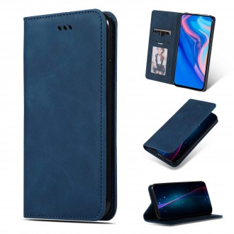 """Tamsiai mėlynas atverčiamas dėklas Samsung Galaxy N975 Note 10 Plus telefonui """"Business Style"""""""