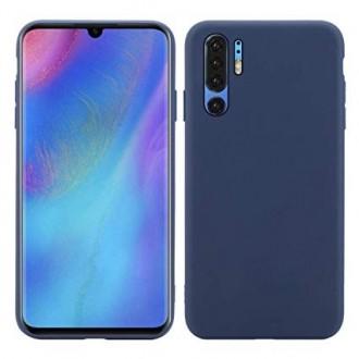 """Tamsiai mėlynas silikoninis dėklas Huawei P30 Pro telefonui """"Spigen TPU Case"""""""