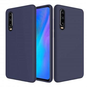 """Tamsiai mėlynas silikoninis dėklas Huawei P30 telefonui """"Spigen TPU Case"""""""