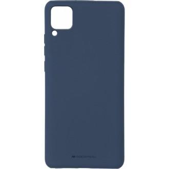 """Tamsiai mėlynas silikoninis dėklas Huawei P40 Lite telefonui """"Mercury Soft Feeling"""""""