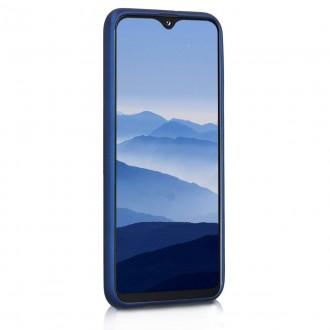 "Tamsiai mėlynas silikoninis dėklas Samsung Galaxy A202 A20e telefonui ""Mercury Soft Feeling"""