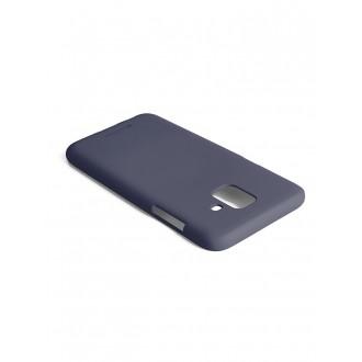 "Tamsiai mėlynas silikoninis dėklas Samsung Galaxy A600 A6 2018 telefonui ""Mercury Soft Feeling"""