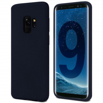 """Tamsiai mėlynas silikoninis dėklas Samsung Galaxy G960 S9 telefonui """"Spigen TPU Case"""""""