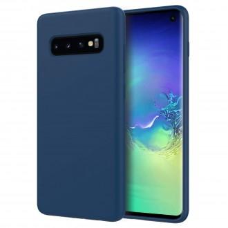 """Tamsiai mėlynas silikoninis dėklas Samsung Galaxy G9673 S10 telefonui """"Spigen TPU Case"""""""