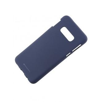 """Tamsiai mėlynas silikoninis dėklas Samsung Galaxy G970 S10e telefonui """"Mercury Soft Feeling"""""""