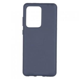 """Tamsiai mėlynas silikoninis dėklas Samsung Galaxy G988 S20 Ultra telefonui """"Mercury Soft Feeling"""""""