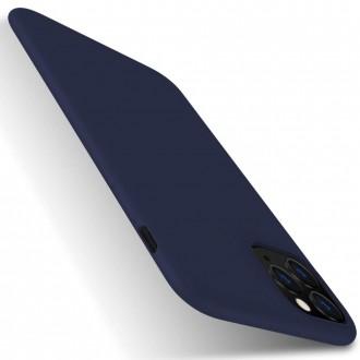 Tamsiai mėlynos spalvos dėklas X-Level Dynamic Apple iPhone 11 Pro telefonui