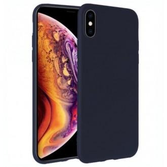 Tamsiai mėlynos spalvos dėklas X-Level Dynamic Apple iPhone 12 Pro telefonui