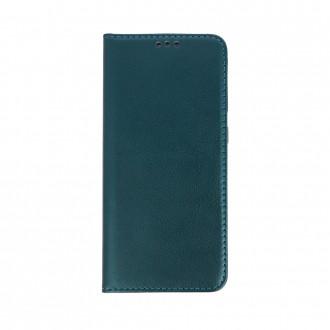 """Tamsiai žalios spalvos atverčiamas dėklas """"Smart Magnetic"""" telefonui Samsung A32 (A325)"""
