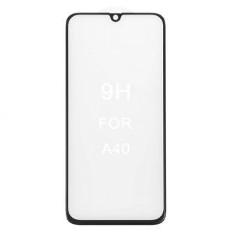 LCD apsauginis stikliukas 5D Perfectionists Samsung A405 A40 lenktas juodas