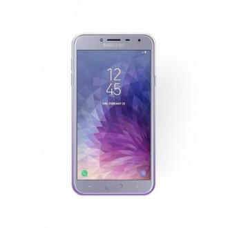 "Violetinis blizgantis silikoninis dėklas Samsung Galaxy J400 J4 2018 telefonui ""Bling"""