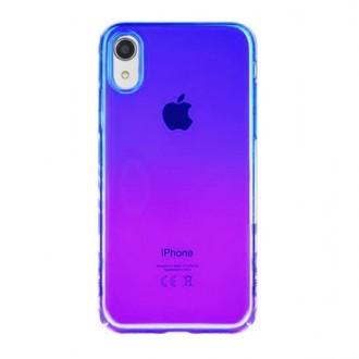 """Violetinis-rožinis dėklas """"Devia Aurora"""" Apple iPhone XR telefonui"""