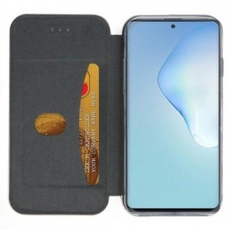 """Vyno raudonos spalvos atverčiamas dėklas """"Book Elegance"""" telefonui Samsung N985 Note 20 Ultra"""