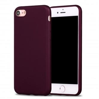 Vyno raudonos spalvos dėklas X-Level Guardian Apple iPhone 7 / 8 / SE 2020 telefonui