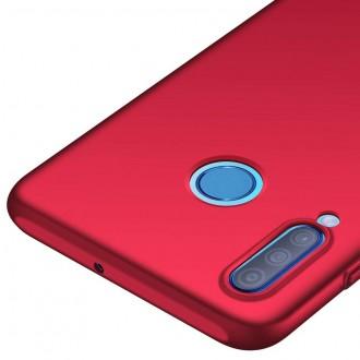Vyno raudonos spalvos dėklas X-Level Guardian Huawei P30 Lite telefonui