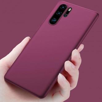 Vyno raudonos spalvos dėklas X-Level Guardian Huawei P30 Pro telefonui