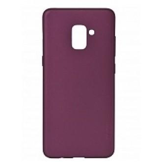 Vyno raudonos spalvos dėklas X-Level Guardian Samsung Galaxy A600 A6 2018 telefonui