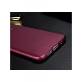 Vyno raudonos spalvos dėklas X-Level Guardian Samsung Galaxy G935 S7 Edge telefonui