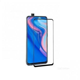 LCD apsauginis stikliukas 9D Full Glue Huawei P Smart Z / Y9 Prime 2019 juodas
