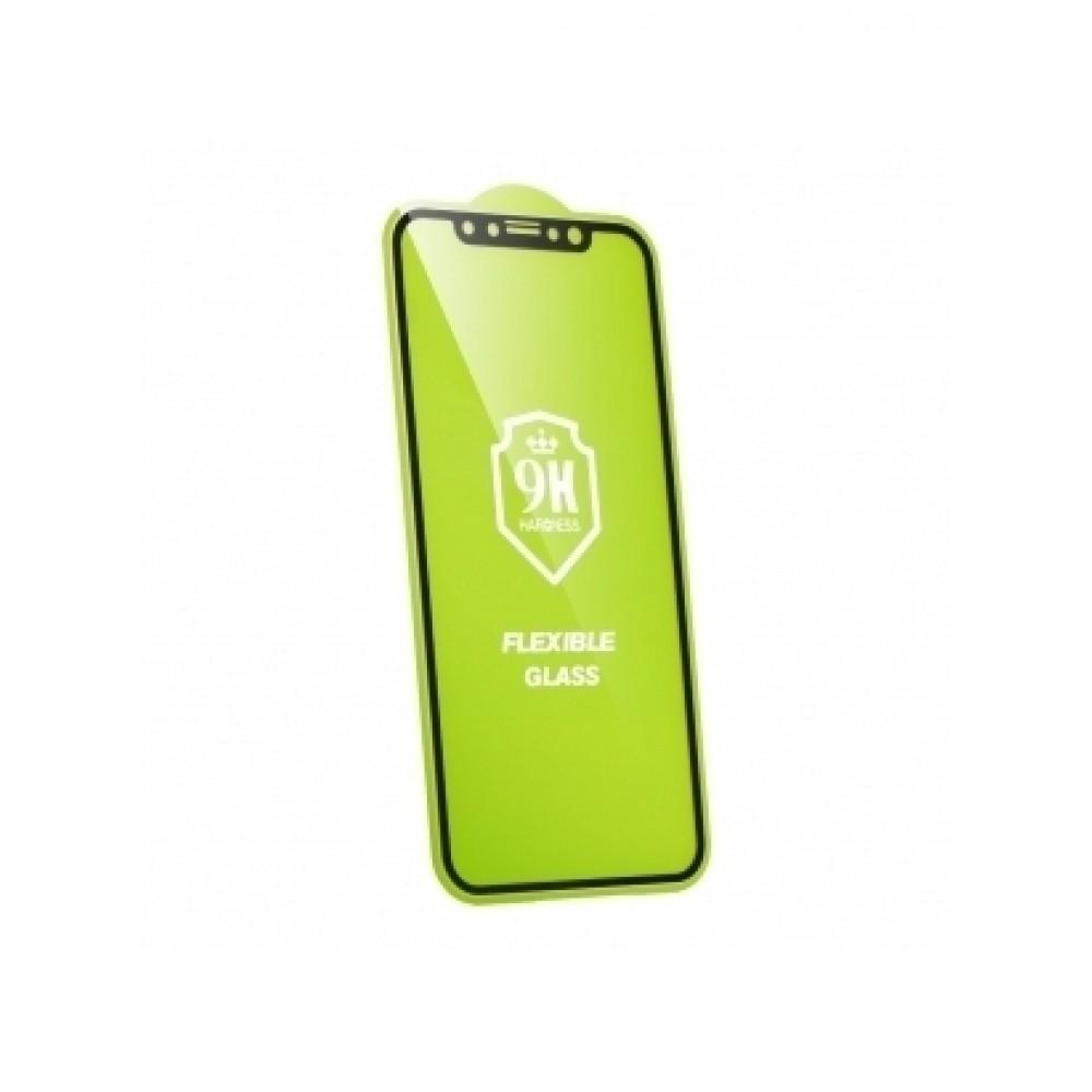 "APSAUGINIS GRŪDINTAS STIKLAS SAMSUNG GALAXY J4 2018 TELEFONUI "" Flexible Nano Glass 5D Full Glue"""
