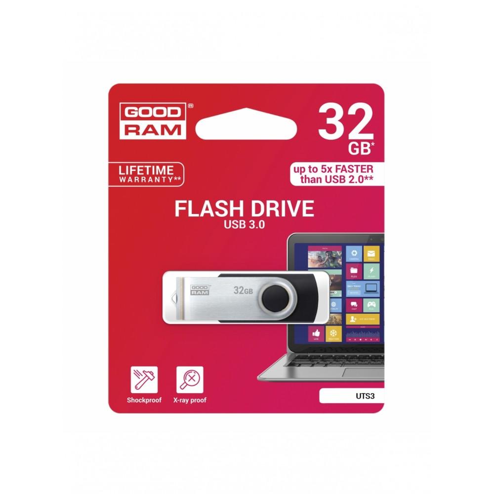 Atmintinė GOODRAM UTS3 32GB USB 3.0