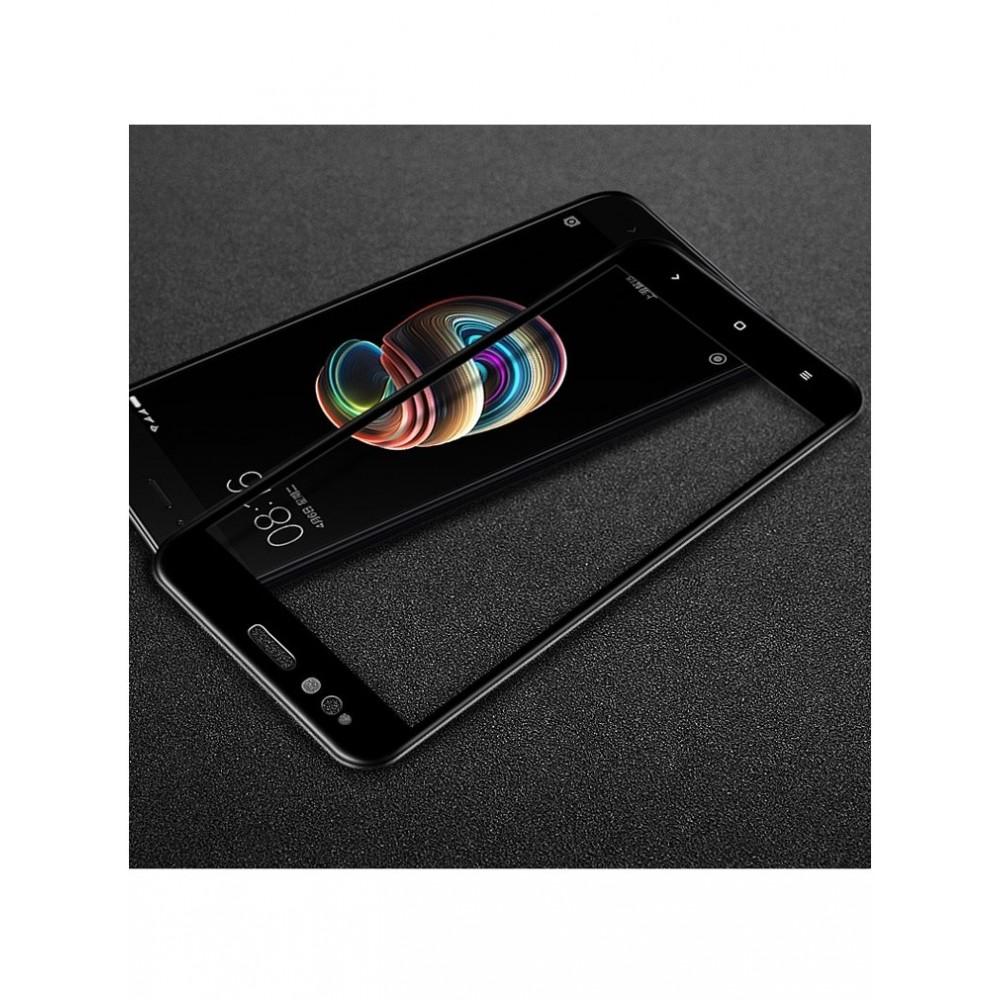 Juodas lankstus grūdintas stiklas Glass PRO+  Xiaomi Redmi 4A telefonui