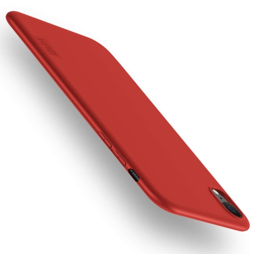 Raudonos spalvos dėklas X-Level Guardian Apple iPhone XR telefonui
