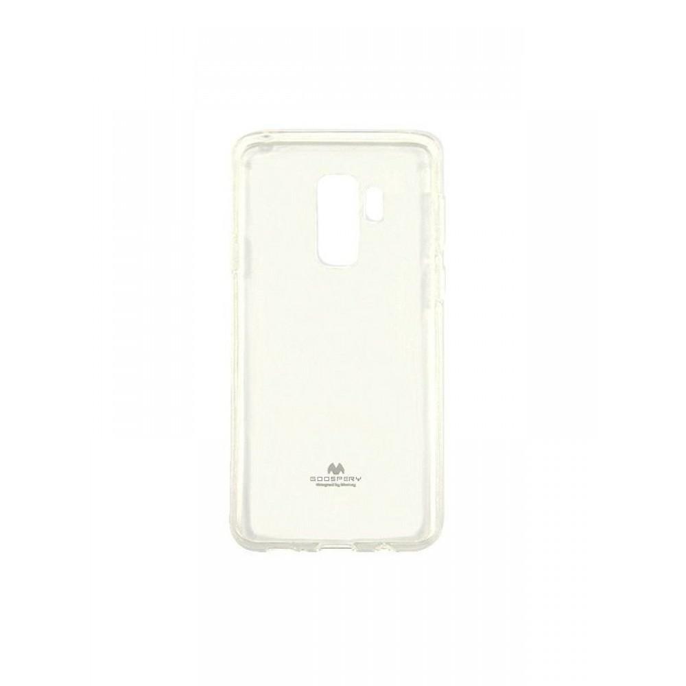 """Skaidrus dėklas Mercury Goospery """"Jelly Case"""" Samsung Galaxy G965 S9 Plus telefonui"""